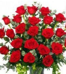 hagyományos rózsacsokor