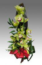 Orchidea ág díszítve